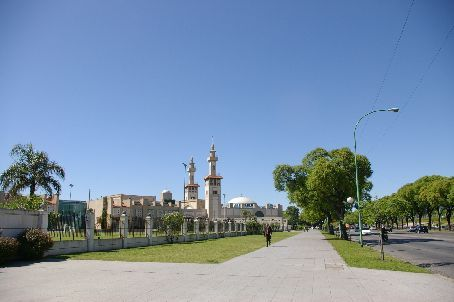 The largest mosque in BA