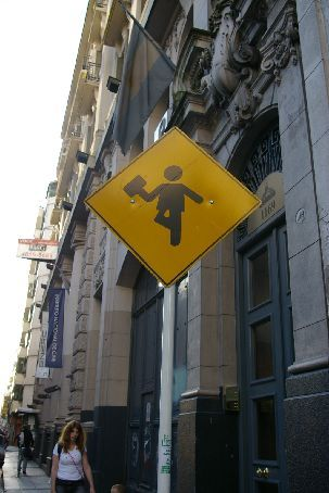 Beware of those Argentine businessmen skipping down the street