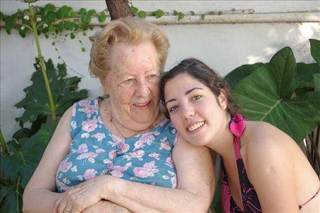 Sofia and her really cool grandmother