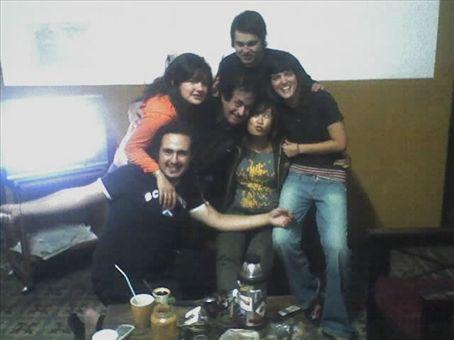 Marcelo, Julieta, Octavio, Pablo, myself and Chio