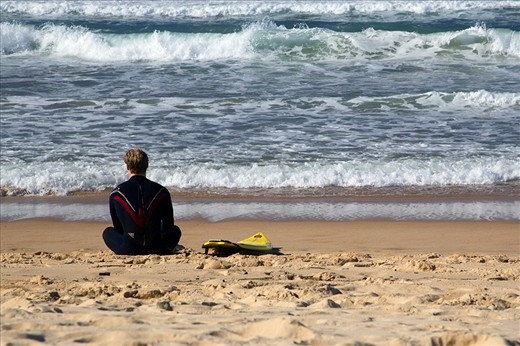 Calm - Manly Beach, Sydney, 2013