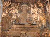 A beautiful carving of Lord Buddha and his followers.: by vinaygy, Views[369]
