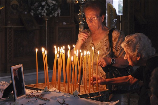 …The Greek Orthodox Christianity is inseparable with the history of Greek people. In hard times, many people feel the need to APPEAL to God's help…