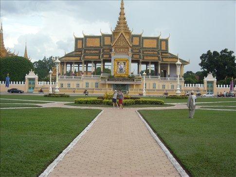 silver (?) pagoda.
