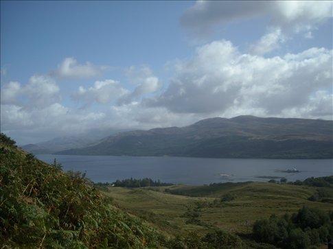 view from kiel, near ardgour