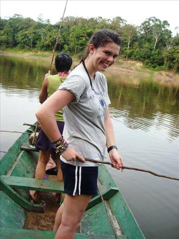 vivienne catching pirahanas