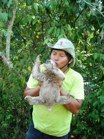 ruben likes sloths