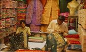 Masters of embroidery in an open-air bazaar in Karachi. Here it is a man privilege to decorate the woman's attire.: by vlad, Views[182]