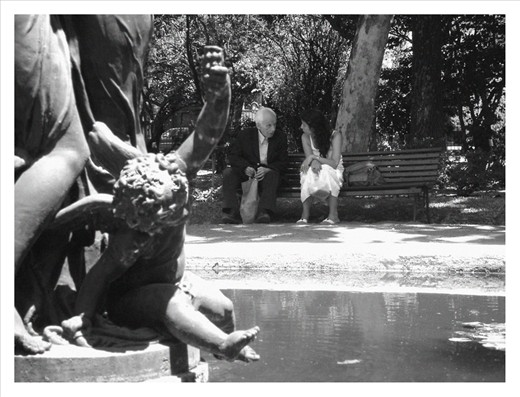The seen. Just talking in the Botanical Garden of Buenos Aires.