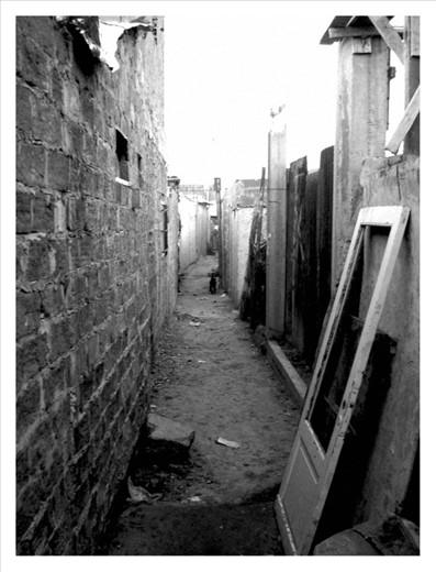 The unseen. Inside a slum.