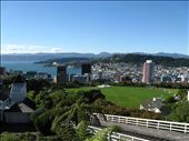 Sunny Wellington, the capital of NZ as seen from the top of the cable car.: by walkamile, Views[899]