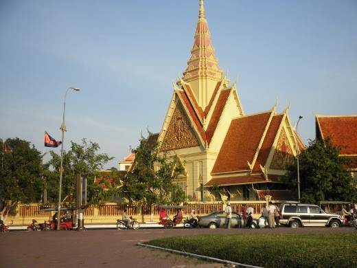The city of Phnom Penh is quite beautiful in many ways