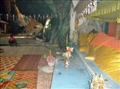 Inside the killing cave, now a place of peace and rembrance; contains a giant reclining buddha: by walkingabout2, Views[178]