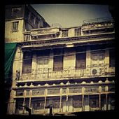 Anglo Indian architecture in Baans Bazar, Walled City, Lahore.: by walkon, Views[831]