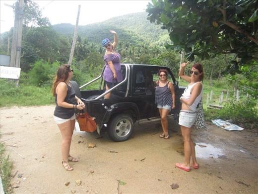 Jeep hire, Ko Pha-Ngan