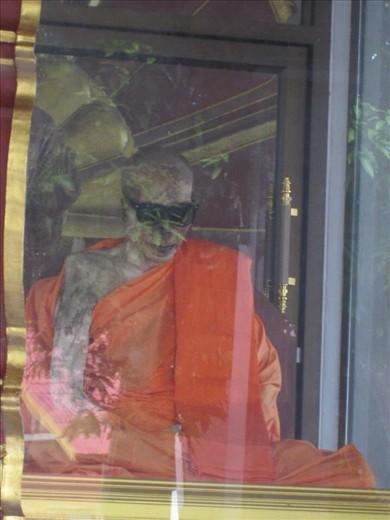 Mummified Monk, Koh Samui