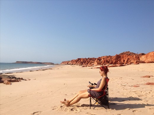 Western Beach, Kooljaman at Cape Leveque