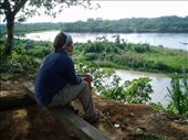 Late 2003. A favorite thought spot, overlooking the Alto Rio Madre de Dios.: by wanderling, Views[214]