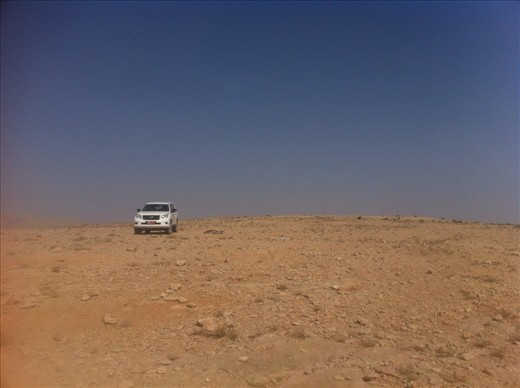 Stranded with our 4WD in Oman