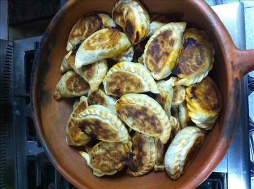 The famous empanadas of Salta, Argentina!