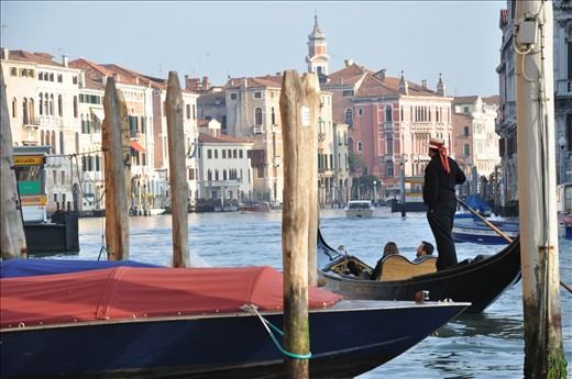 First images of the Canal Grande. A news for my eyes.