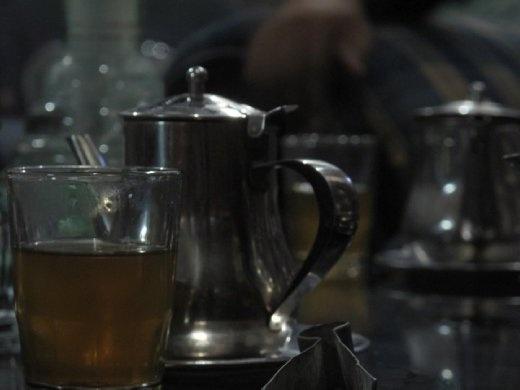 Mint tea, Fez, Morocco