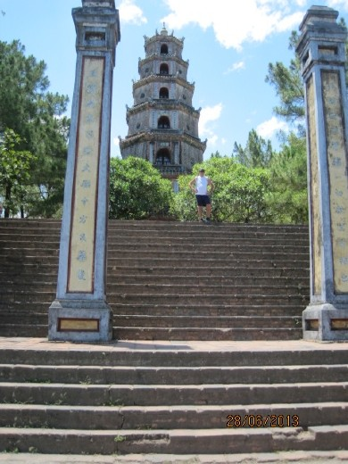Famous pagoda. Its free. Hue