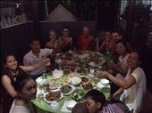 Family dinner at HomeStay with owner and other guests. : by wendyandkevin, Views[119]