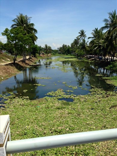 View of small river near Betel.