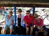 Ladies on bike ride and now on ferry back to HoiAn: by wendyandkevin, Views[179]