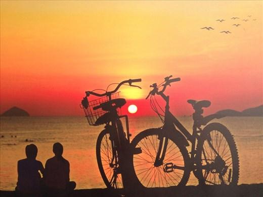 Sunrise at  Nha Trang