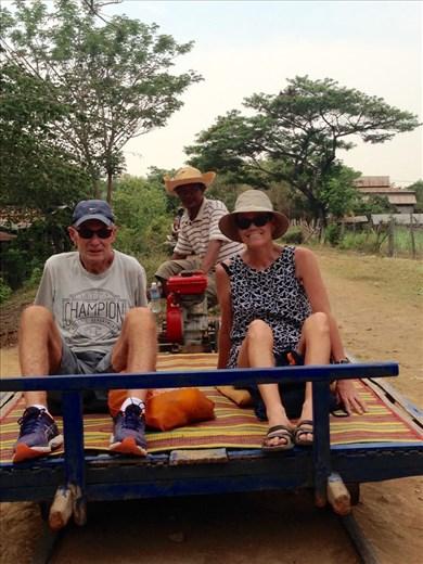 Bamboo Train at Battambang