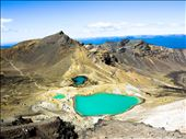 Emerald Lakes are a treasure for those who hike the Tongariro Alpine Crossing: by wheelscr, Views[138]