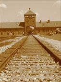 'Death Gate' railway entrance into Auschwitz-Birkenau Death Camps OSWIETZ: by whereintheworld, Views[558]