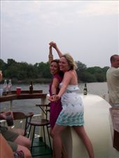 Kate and Leo Eat Your Heart Out! (re-enaction of Titanic starring Sharon and Amanda W.) BOOZE CRUISE: by whereintheworld, Views[514]