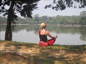posing or meditating?????: by whereintheworld10, Views[117]