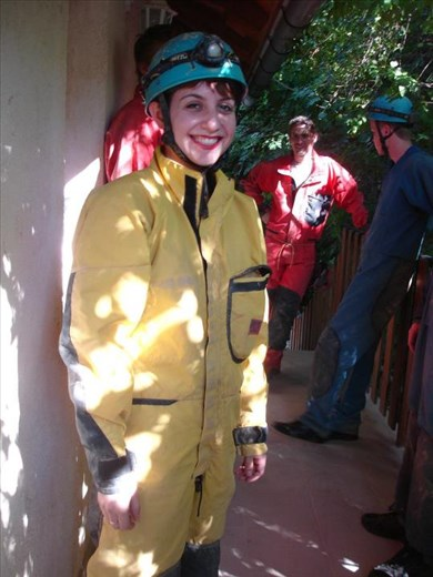 I went caving outside of Budapest in 2011, one of my favorite travel memories, and in general as well.