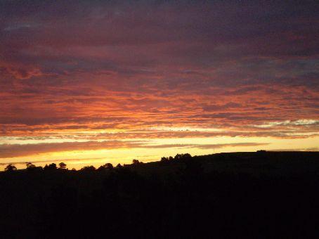 Sunset in Leongatha