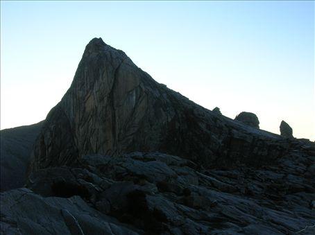 Ugly Sister Peak (going down).