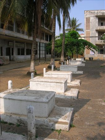 Only 14 of the 17,000 victims of Tuol Sleng received proper burials.