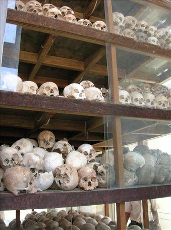Choeung Ek victims skulls.