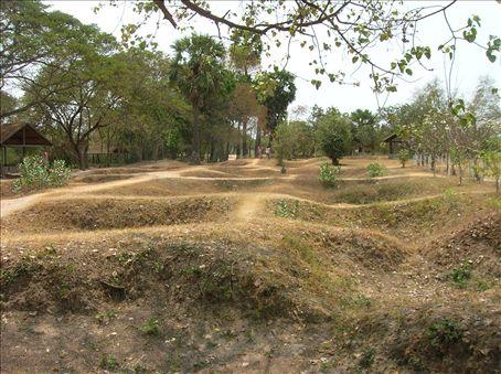 Mass graves at Choeung Ek.