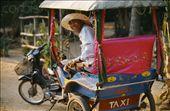 Cambodian tuk tuk - the tourists mode of travel.: by whitneyj, Views[375]