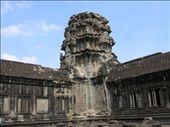 Corner pillar of an Angkor gallery.: by whitneyj, Views[287]