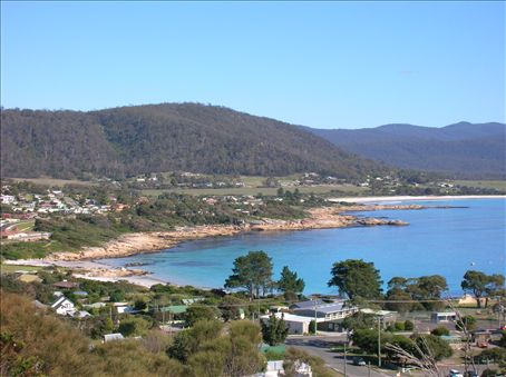 Waubs Bay - named for Waubedar, an aboriginal woman who won the love and respect of locals after swimming 1 km offshore to rescue sealers shipwrecked in a storm.