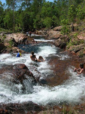 Nature's waterslide.