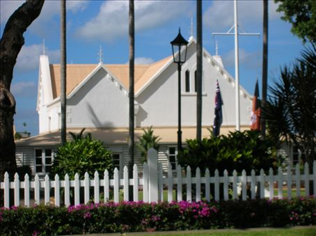 The Gvernment House - the official residence of the Administrator of the Northern Territory.