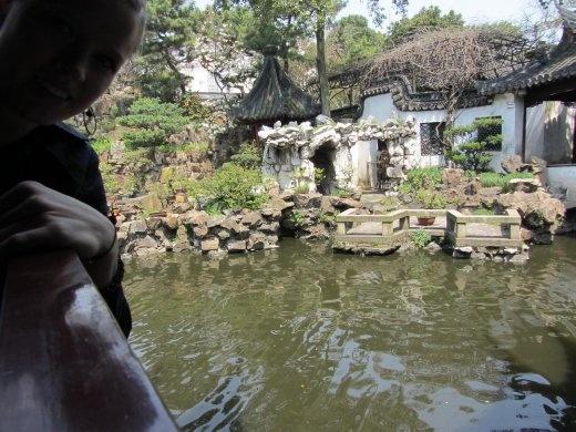 YuYuan garden. Built for emporer of Qing dynasty.