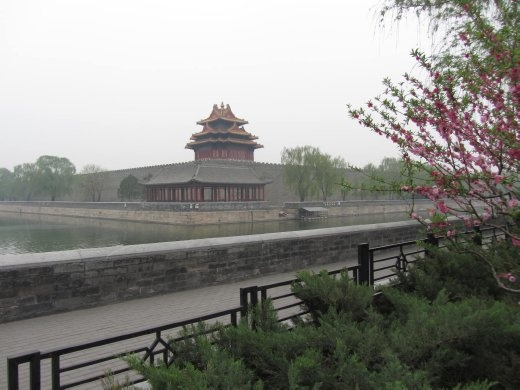 North-west corner of Forbidden City