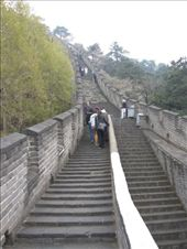 Mutianyu is one of the more hilly sights of The Great Wall.